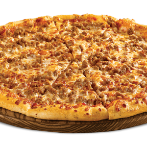 mince meat pizza image