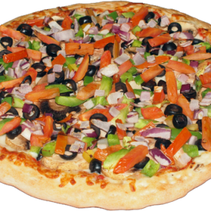 Vegetarian Hot Pizza image