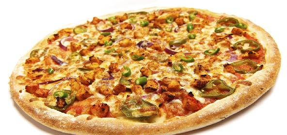 balti chicken pizza image
