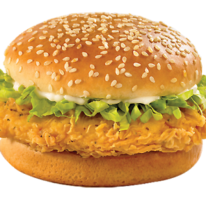 fillet chicken burger image