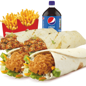 wrap meal deal image